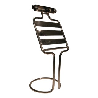 Mid-Century Chrome Sheet Music Stand - 50th Anniversary Sale For Sale