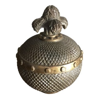 20th Century Mediterranean Small Decorative Urn with Lid For Sale