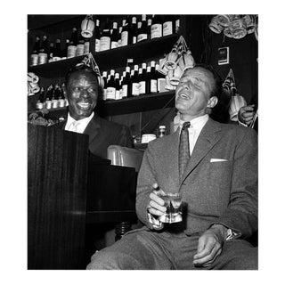 Nat 'King' Cole and Frank Sinatra at the Villa Capri 1955 For Sale