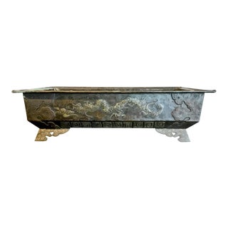 Bronze Planter or Hibachi, Edo Period For Sale