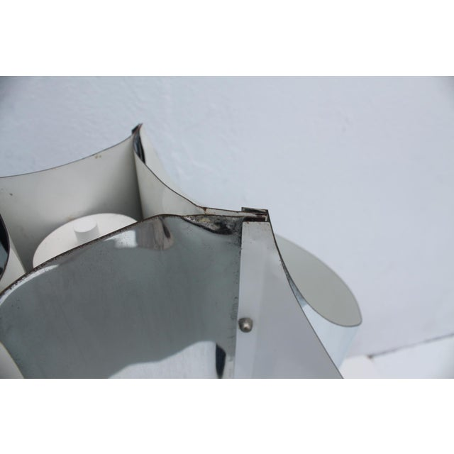 Robert Sonneman 1969 Space Age Chrome Table Lamp - Image 6 of 11