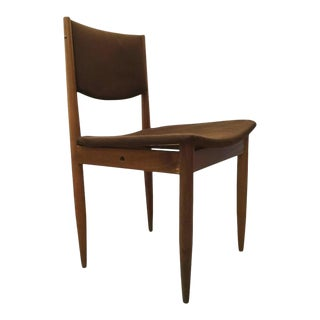 Mid-Century Beech Wood Chair from E & A Pollack, 1950s For Sale
