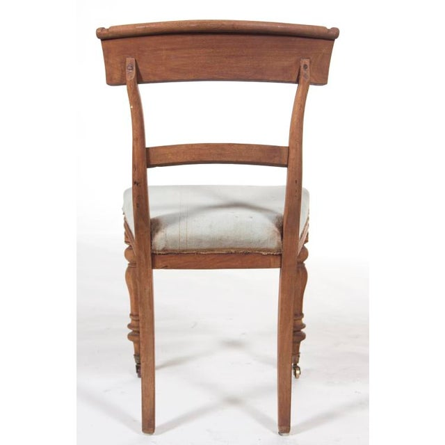 Hollywood Regency Late 19th Century Regency Chair For Sale - Image 3 of 4