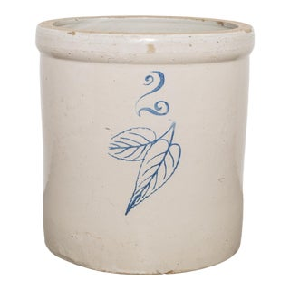 Minnesota Stoneware Co. Red Wing 2 Gallon Crock C.1900 For Sale