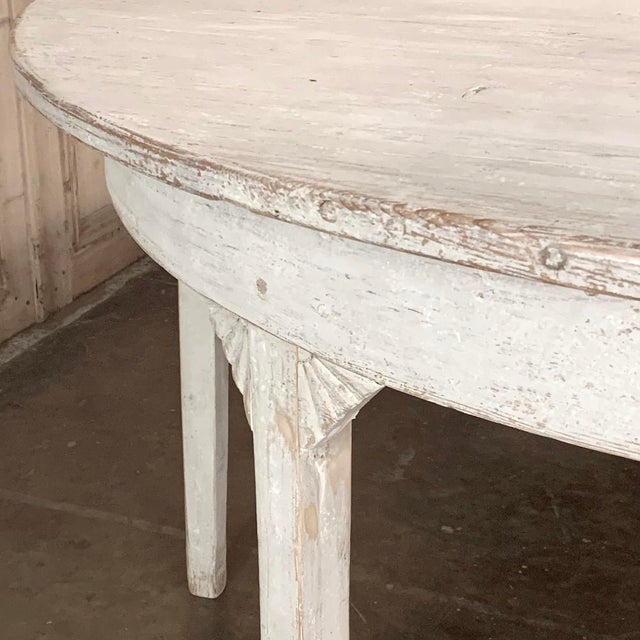Banquet Table, Painted, Early 19th Century Swedish Gustavian Period For Sale - Image 11 of 13