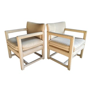 Parsons Lounge Chairs, a Pair For Sale