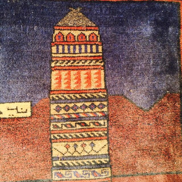 """Vintage Ferdos Persian Rug - 3' x 3'10"""" - Image 4 of 9"""