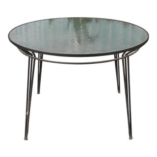 1960s Vintage Patio Table For Sale