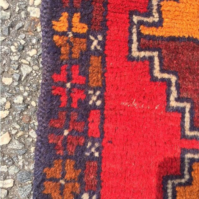 "Baluchi Hand Made Persian Rug - 2'6""x4'2"" - Image 7 of 7"