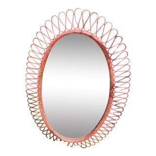 Vanity Metal Mirror Designer Concept For Sale