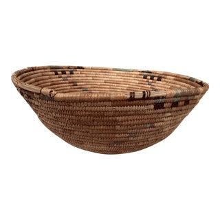 1920s Vintage African Basket For Sale