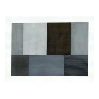 "Tom McGlynn ""Test Pattern 2 (Grey Study)"", Painting For Sale"