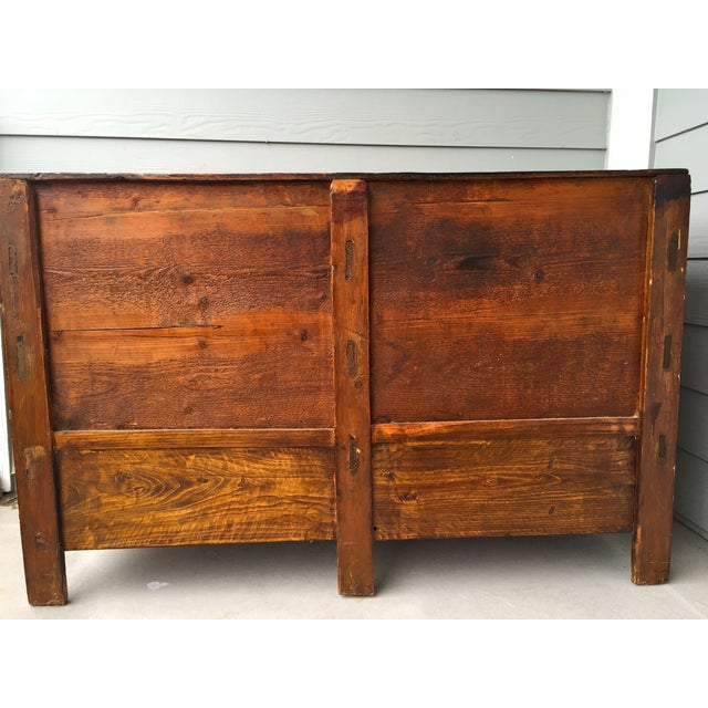 Asian Gansu Sideboard Cabinet - Image 9 of 11