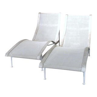 1960s Richard Schultz Collection Chaise Lounges - A Pair For Sale