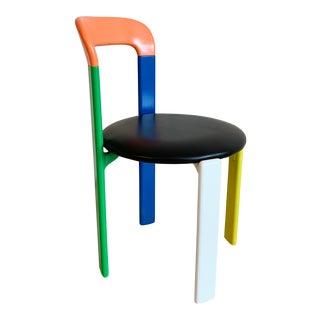 "Vintage Bruno Rey ""Rey"" Chair in Multicolor For Sale"