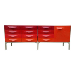 Mid-Century Raymond Loewy DF-2000 Cabinet For Sale