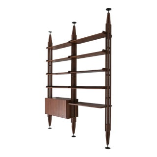 """Lb7"" Bookcase by Franco Albini for Poggi For Sale"