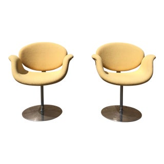 1965 Vintage Pierre Paulin for Artifort Tulip Chairs - A Pair For Sale