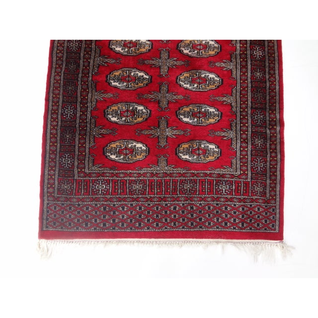 """Hand-Knotted Red Runner Rug - 2'6 x 6'4"""" - Image 6 of 11"""