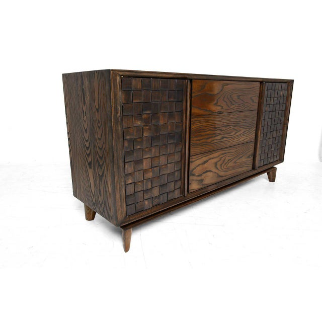 Mid-Century Modern Paul Laszlo Brown Saltman Credenza For Sale - Image 3 of 10