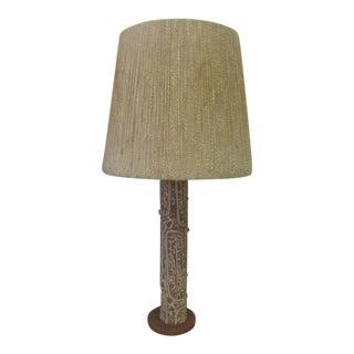 Unusual Lee Rosen for Design Technics Tall Ceramic Table Lamp