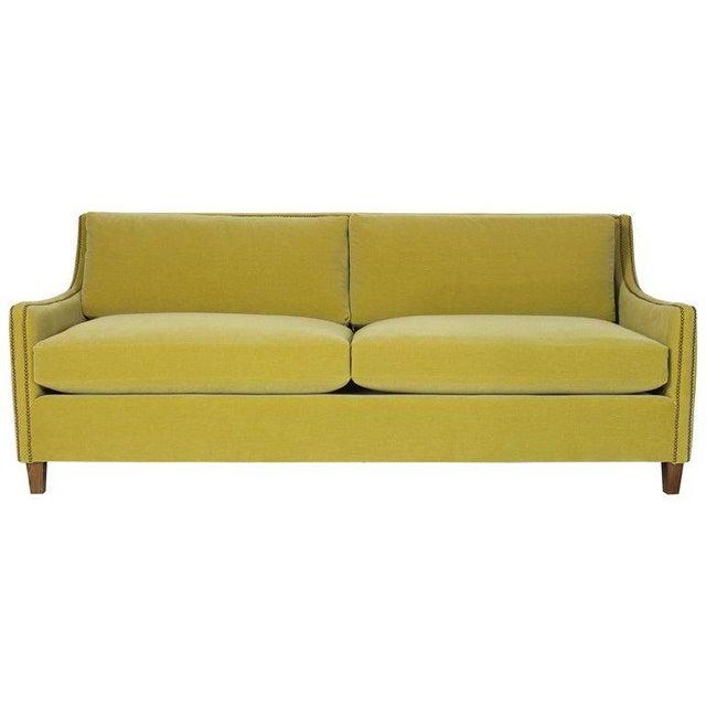 Custom Made Deep Seated Sofa For Sale - Image 11 of 11