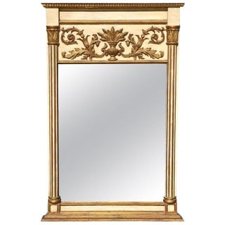 Italian Giltwood Neoclassical Mirror For Sale