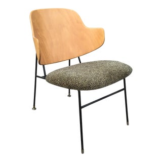 Mid-Century Danish Modern Ib Kofod Larsen for Selig Penguin Chair For Sale