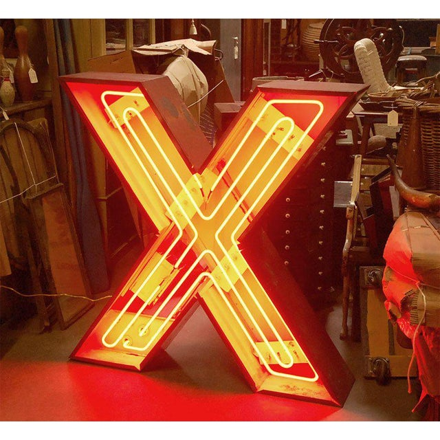 "Neon ""X"" For Sale - Image 4 of 9"