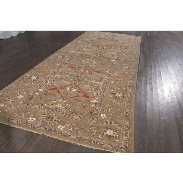 "Persian Sultanabad Rug - 6'4"" x 16'5"" - Image 8 of 10"