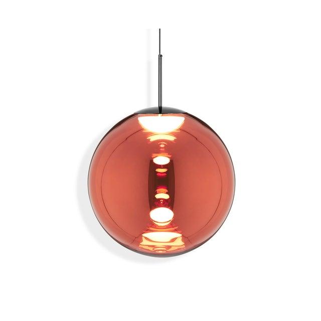 2010s Tom Dixon Globe 50cm Pendant Copper For Sale - Image 5 of 5