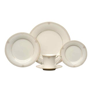 Noritake Satin Gown Dinnerware - Service for 12 For Sale