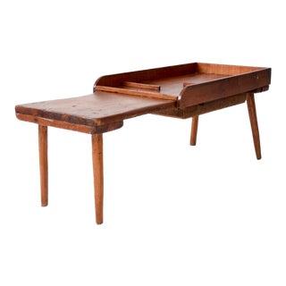 Antique Primitive End Table For Sale