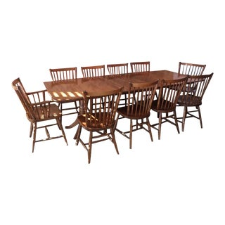 1900s Mission Stickley Dining Room Furniture Set For Sale