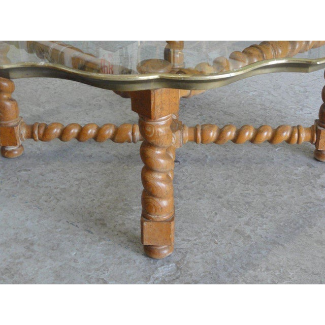 Baker Pie Crust Tray Top Coffee Table - Image 2 of 11