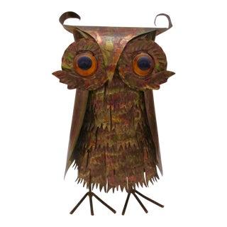 Mid-Century Modern Brutalist Owl