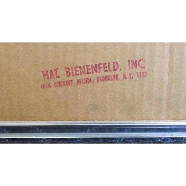 Glass Tiled Hal Bienenfeld Pop Op Art Wall Mirror For Sale - Image 7 of 13