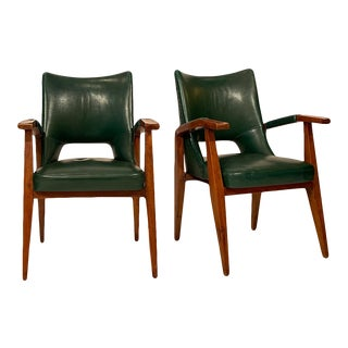 Armchairs by Mario Gottardi - a Pair For Sale