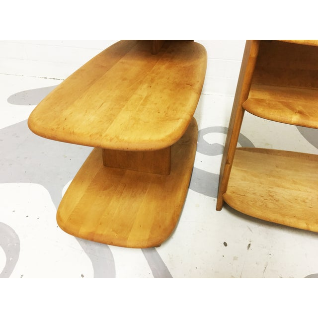 Heywood Wakefield Mid-Century Side Tables - A Pair - Image 5 of 6