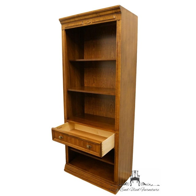 "French Bernhardt Country French 32"" Wall Unit Bookcase For Sale - Image 3 of 8"