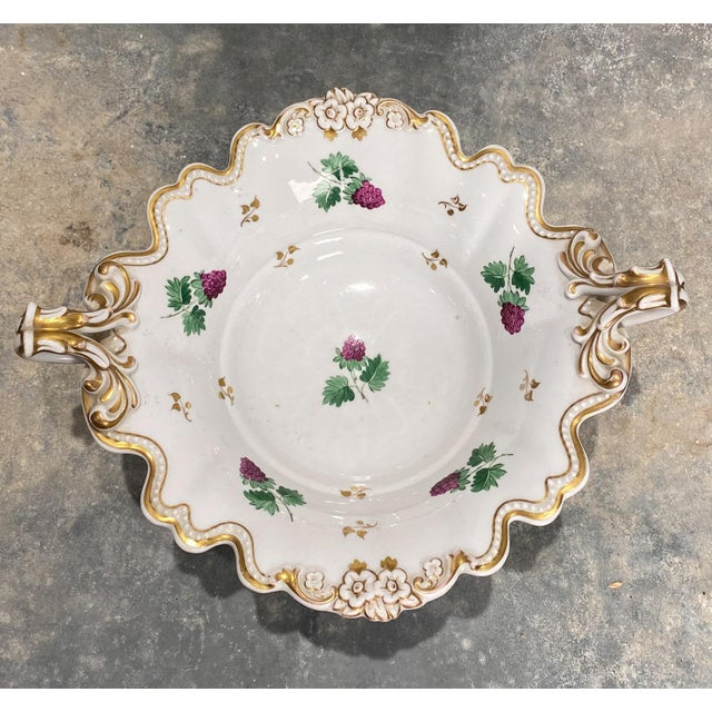Mid 19th Century 19th Century English Porcelain Footed Bowl For Sale - Image 5 of 8