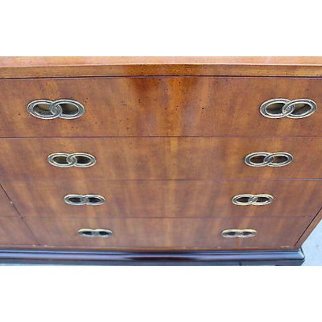 1950s Vintage Michael Taylor for Henredon Ming Base Dresser For Sale - Image 5 of 9