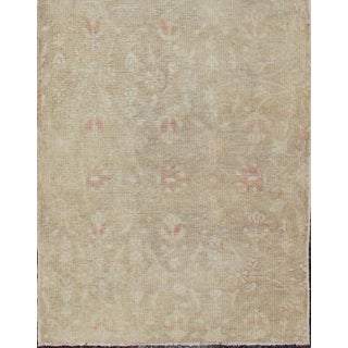 Vintage Turkish Pale Oushak Runner-2'6 X 10' Preview