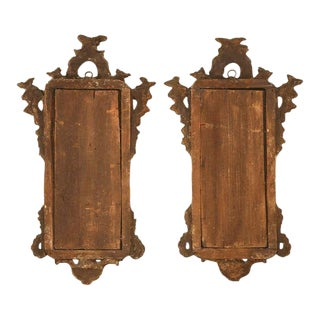 18th Century Italian Rococo Style Mirrors - A Pair For Sale