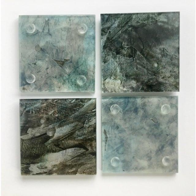 Upcycled Glass Coasters - Set of 4 - Image 6 of 8