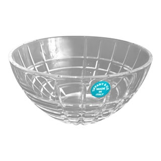 Vintage Tiffany and Co. Cut Crystal Bowl For Sale
