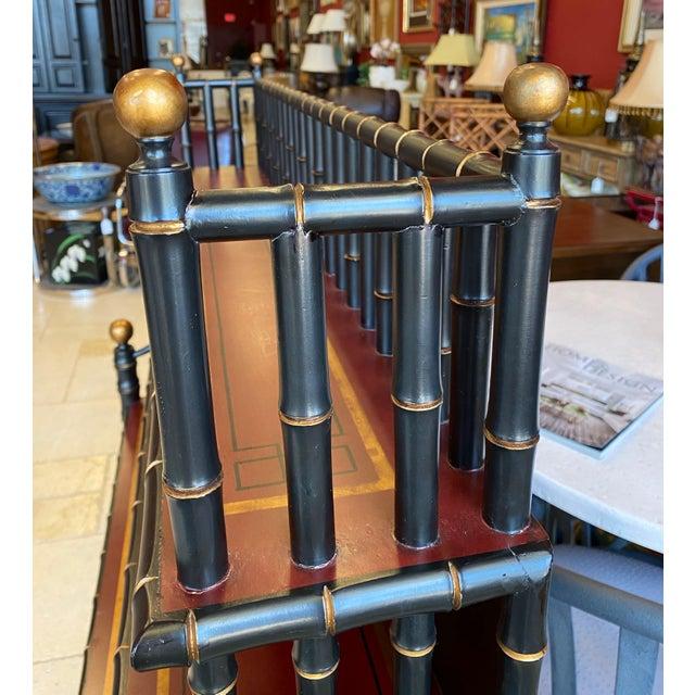 Chinoiserie Mario Buatta Widdicomb Waterfall Bookcase For Sale - Image 11 of 12