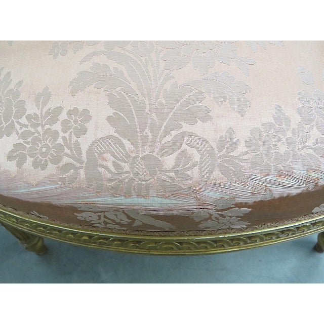 Pink French Regency Style Arm Chairs - a Pair For Sale - Image 8 of 13