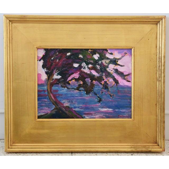 Impressionist Seascape Landscape Painting by Juan Pepe Guzman For Sale - Image 9 of 10