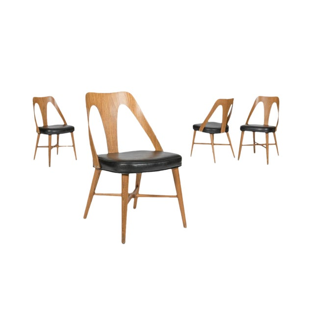 1960s Bentwood Dining Chairs - Set of 4 - Image 1 of 4